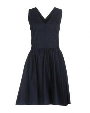 Короткое платье EMMA&GAIA. Цвет: темно-синий