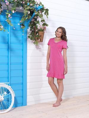 Платье BlackSpade. Цвет: розовый