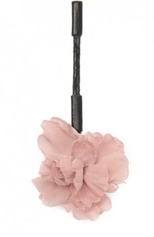 Шелковая булавка в виде пиона Flower Me. Цвет: сиреневый