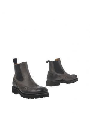 Полусапоги и высокие ботинки SEBOY'S. Цвет: серый