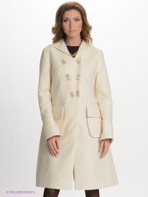 Пальто Elena Shumilo. Цвет: молочный