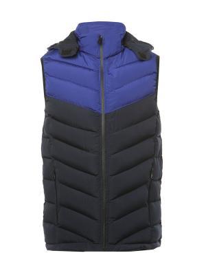 Жилет Classic Fashion. Цвет: темно-синий, синий