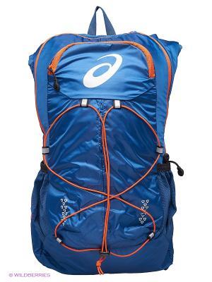 Рюкзак LIGHTWEIGHT RUNNING BACKPACK ASICS. Цвет: синий, серый, черный