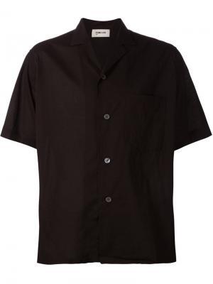 Рубашка с короткими рукавами Second/Layer. Цвет: чёрный