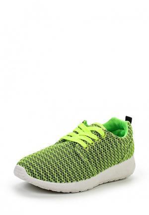Кроссовки Martin Pescatore. Цвет: зеленый