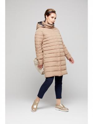 Пальто GOLD&ZISS. Цвет: светло-оранжевый