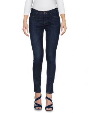 Джинсовые брюки GOLDSIGN. Цвет: синий