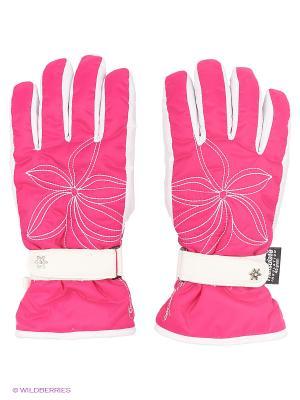 Перчатки Catmandoo. Цвет: розовый