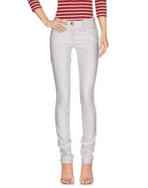 Джинсовые брюки NEW YORK INDUSTRIE. Цвет: белый