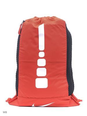 Рюкзаки NK HPS ELT GMSK Nike. Цвет: красный