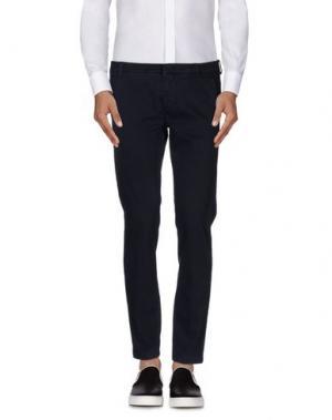 Повседневные брюки GABARDINE. Цвет: темно-синий