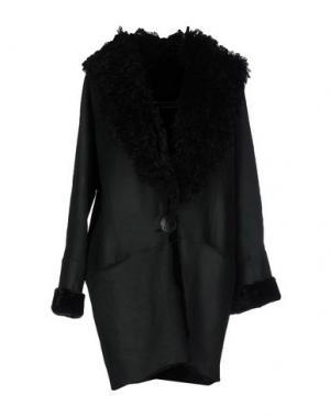 Пальто HENRY BEGUELIN. Цвет: темно-зеленый