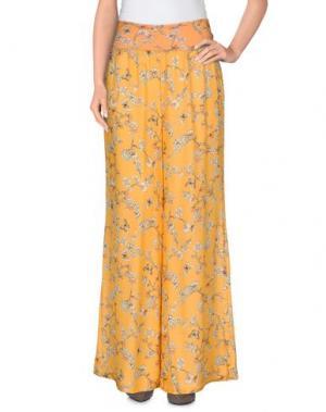 Повседневные брюки GRAZIA'LLIANI SOON. Цвет: оранжевый