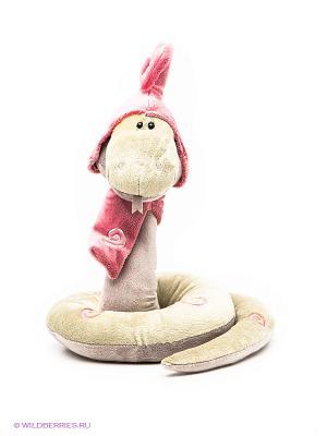Игрушка Змей Луи ORANGE. Цвет: оливковый, розовый