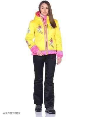 Куртка Sport Vision. Цвет: желтый
