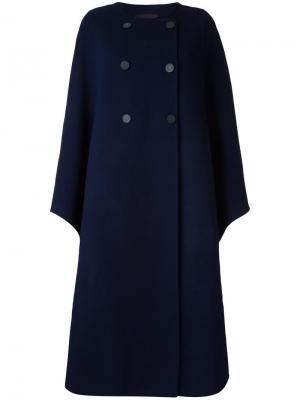 Пальто свободного кроя Goen.J. Цвет: синий