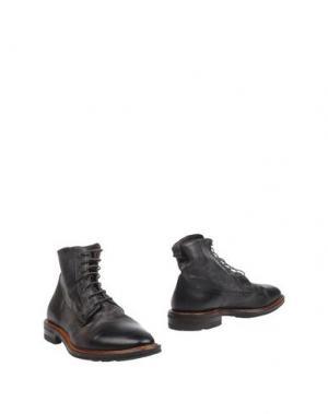 Полусапоги и высокие ботинки ROLANDO STURLINI. Цвет: темно-коричневый