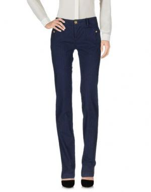 Повседневные брюки GAI MATTIOLO JEANS. Цвет: синий