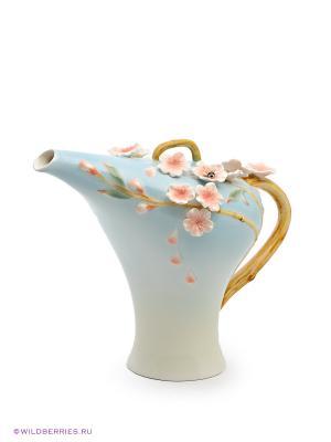Заварочный чайник Сакура Pavone. Цвет: голубой