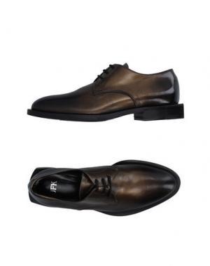 Обувь на шнурках JFK. Цвет: хаки