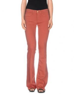 Джинсовые брюки MIH JEANS. Цвет: ржаво-коричневый