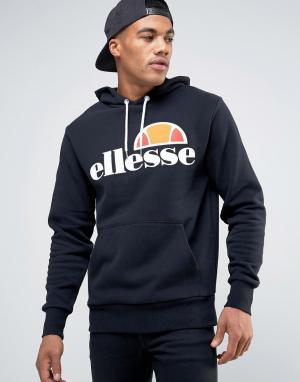 Ellesse Худи с классическим логотипом. Цвет: черный