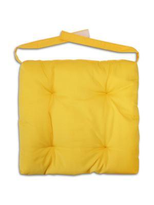 Сидушки для стула прикольные GrandStyle. Цвет: желтый