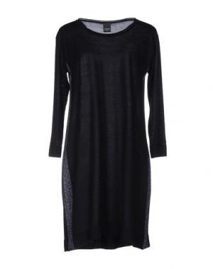 Короткое платье LORENA ANTONIAZZI. Цвет: темно-синий
