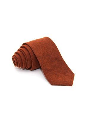 Галстук Churchill accessories. Цвет: темно-бордовый, бордовый, коричневый, красный, темно-красный, терракотовый