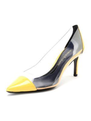Туфли GIORGIO FABIANI. Цвет: желтый