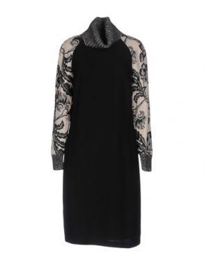 Платье до колена GUSTAV. Цвет: черный