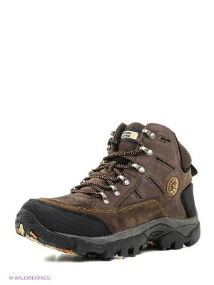 Спортивные ботинки WOODLAND. Цвет: коричневый