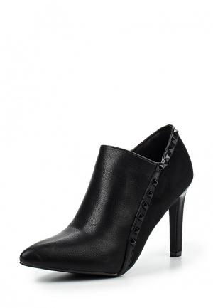 Ботильоны Max Shoes. Цвет: черный