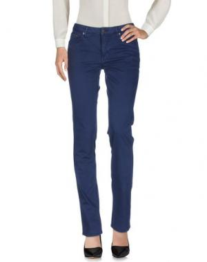 Повседневные брюки GANT. Цвет: темно-синий