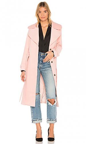 Пальто double agent Yumi Kim. Цвет: румянец