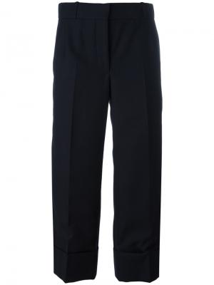 Wide leg cropped pants Thom Browne. Цвет: синий