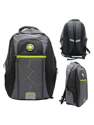 Рюкзак ACTION!. Цвет: серый, черный
