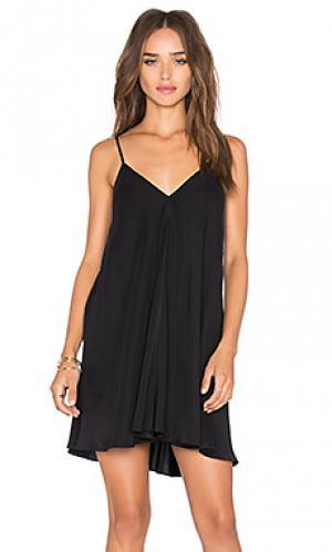 Платье jamily Amanda Uprichard. Цвет: черный