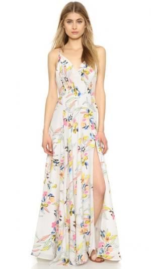 Макси-платье Kat Yumi Kim. Цвет: сказка