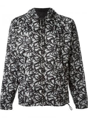 Ветровка с лиственным принтом Marc Jacobs. Цвет: чёрный