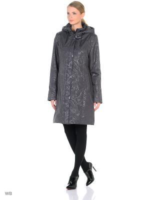 Пальто MARISSA Maritta. Цвет: антрацитовый, сливовый