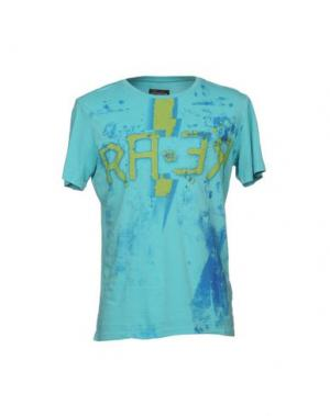 Футболка RA-RE. Цвет: бирюзовый