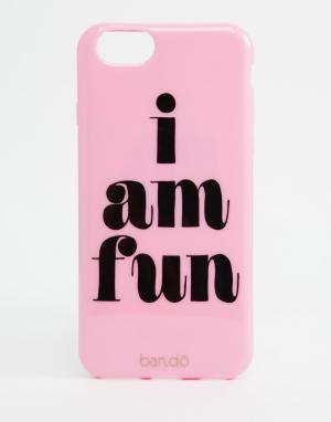BAN DO Чехол для iPhone 6/6s Ban.Do Back I Am Fun. Цвет: мульти