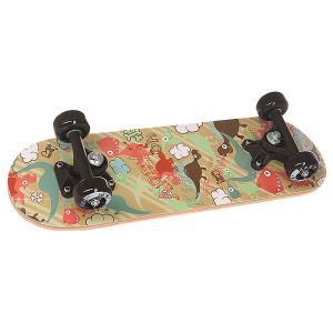 Скейтборд в сборе детский  Dino Garden Multi 20 x 6 (15.2 см) Fun4U. Цвет: мультиколор