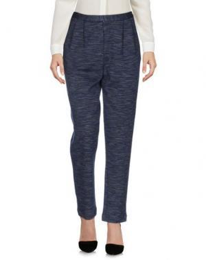 Повседневные брюки NIU'. Цвет: синий