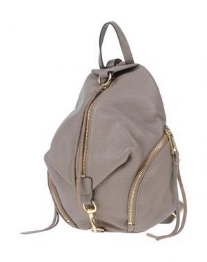 Рюкзаки и сумки на пояс REBECCA MINKOFF. Цвет: голубиный серый