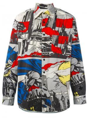 Рубашка с принтом Batman Jc De Castelbajac Vintage. Цвет: многоцветный