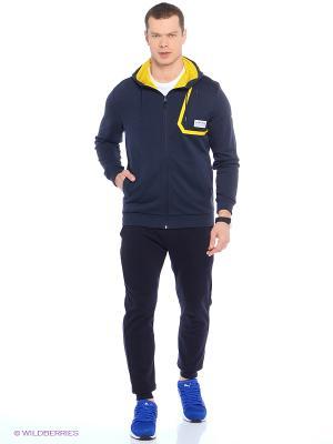 Кофта RBR Sweat Jacket Puma. Цвет: синий, желтый