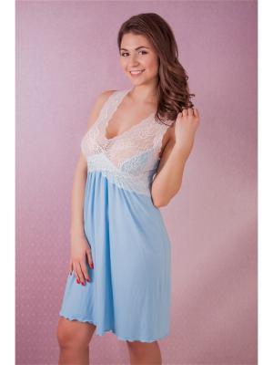Сорочка MONTI&FARR. Цвет: голубой