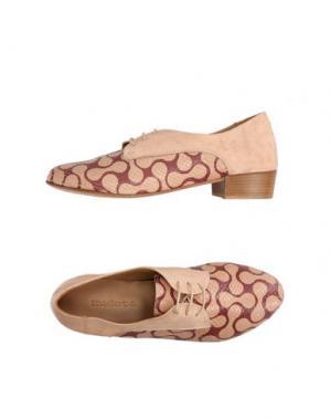 Обувь на шнурках KUDETÀ. Цвет: песочный